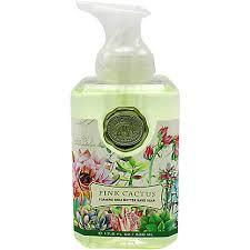 <b>Michel Design Works Pink</b> Cactus Foaming Soap, 17.8 oz – Central ...