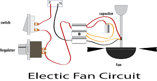 electric fan wiring diagram capacitor electric wiring diagrams