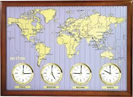 Деревянные <b>настенные часы Rhythm CMW902NR06</b> — купить в ...