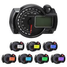 Dropshipping for LCD <b>7 Colors</b> Display <b>Motorcycle</b> Digital ...