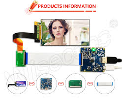 LS055R1SX03 <b>2560x1440 5.5 inch 2K</b> LCD display with HDMI to ...