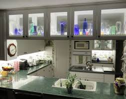 glass faced cabinet lighting accent lighting or task ligthing cabinet accent lighting