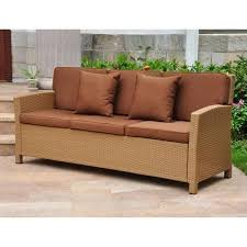 valencia all weather wicker outdoor contemporary sofa with cushions buy source outdoor circa