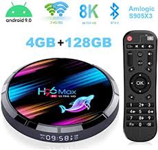 4GB 128GB Android TV Box, H96 Max X3 4K/8K ... - Amazon.com