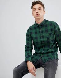 China <b>Custom High Quality Men</b>′s Cotton Flannel Shirts - China ...
