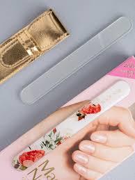 <b>Пилка</b> для ногтей Magic <b>Nail</b> стеклянная с принтом красные розы ...
