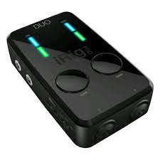 <b>Аудиоинтерфейс IK MULTIMEDIA</b> iRig Pro DUO компактный midi ...