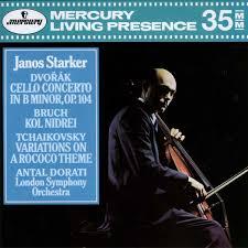 Janos Starker - <b>Dvořák</b>*, <b>Bruch</b>*, Tchaikovsky* - Antal Dorati ...