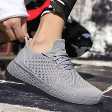 Trendy <b>Summer Men's Breathable</b> FlyKnit Sneakers | Abershoes