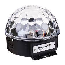 Цветомузыка Диско <b>шар</b> «Magic Ball <b>Light</b>» (подарок USB ...