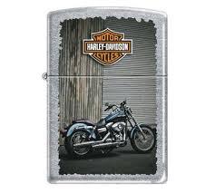 <b>Зажигалка Zippo</b> «<b>Harley</b>-<b>Davidson</b>» с <b>покрытием</b> Street Chrome ...