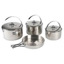Горшки и <b>кастрюли</b> - Полевая кухня - Oборудование