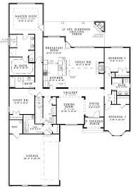 images about Floor plans on Pinterest   House plans  Floor    Stunning Open Floor Plan House Plans in White  Luxury House Gallery Room Open Floor Plan