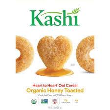 Kashi <b>Heart</b> To <b>Heart</b> Honey Toasted <b>Oat</b> Breakfast Cereal - 12oz ...