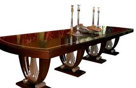 art deco dining table in ruhlmann style dining room tables tables with art dining room furniture art deco dining furniture