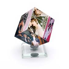 Customized <b>Square Shaped</b> Crystal Photo Frame Color Printing ...