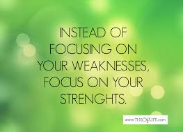 what are your strengths strengthsfinder the op life focus on your strengths not your weaknesses
