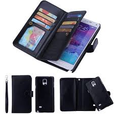 2 in 1 Magnetic Wallet Pu <b>Leather Cases For Galaxy</b> S8 S9plus s7 ...