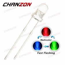 Online Shop CHANZON <b>100pcs 3mm</b> RGB Fast Flashing <b>Led</b> 3 mm ...