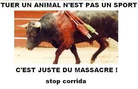"""Résultat de recherche d'images pour """"publicité contre la corrida"""""""