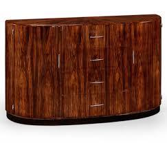 image of art deco demilune sideboard art deco style rosewood secretaire 494335