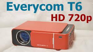 Everycom <b>T6</b> HD 720p (цена/качество) - YouTube