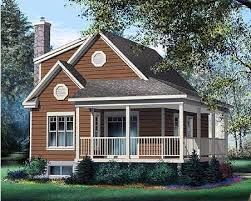 Small Cottage House PlansPlan No W PM Total Living Area    sq  ft  Main Flr   sq  ft  nd Flr  sq  ft  Bedrooms    Full Bathrooms    Width       Depth