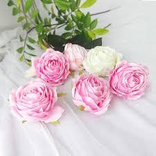 12CM <b>Peony</b> flower head Dahlia Fake flowers DIY Wedding Flower ...