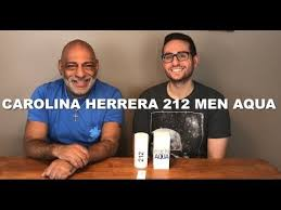 NEW <b>Carolina Herrera 212</b> Men Aqua Limited Edition First ...