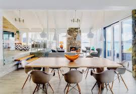 modern organic decor cottage style apartment mid century modern dining room mid century modern design  mid century