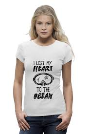 <b>Printio</b> i lost my <b>heart</b> to the ocean - не дорого, доставка - Velokult.ru