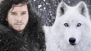Resultado de imagen para lobo huargo fantasma