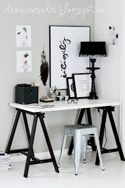 draumesidene office vee speers black and white furniture