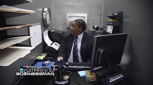 watch bathroom businessman from saturday night live nbccom bathroom office
