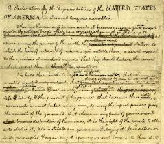 「united states declaration of independence 1776」の画像検索結果