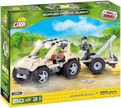 <b>Cobi</b> Small Army <b>Border Patrol</b> Buggy 150pcs 2363 - Krauta.ee