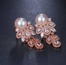 <b>EMMAYA</b> Fashion Pearl Earring 2018 New <b>Austrian Crystal</b> CZ ...