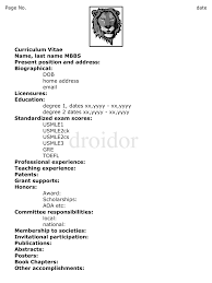 german cv example english cv example student nz sample cv for grad sample long cv write curriculum vitae volumetrics co cv examples science undergraduate sample cv pharmacy residency