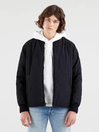 <b>Hyde Quilted</b> Bomber Jacket - <b>Levi's Jeans</b>, Jackets & Clothing
