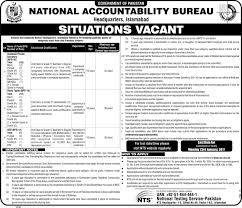nab islamabad jobs national accountability bureau official advertisement for nab islamabad jobs 2017 national accountability bureau headquarters nts application form 30 jobs