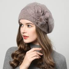 <b>Fibonacci</b> 2018 New <b>Brand Quality</b> Female Beret Wool Knitting Cap ...