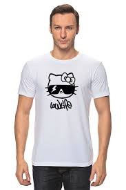 <b>Футболка классическая</b> Hello Kitty-Low <b>life</b> #717131 от Denis M. по ...