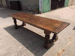 baluster turned leg dining table