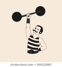 Circus <b>Strong Man</b> Images, Stock Photos & Vectors | Shutterstock