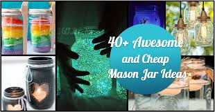 jar crafts home easy diy: awesome and cheap diy ways to recycle mason jars