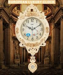 China <b>European Creative</b> Wall Clocks <b>Hot</b> Sale Luxury Clock Plastic ...