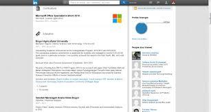 update cv mu dengan linkedin dan jadilah profesional experience
