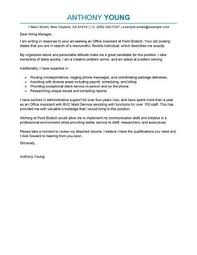 office assistant cover letter cover letter format for online application