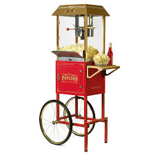 Vintage 10-Ounce <b>Professional</b> Popcorn Cart - 59 Inches Tall ...