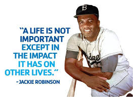 jackie robinson quote on Pinterest | Jackie Robinson, Dodgers and ... via Relatably.com